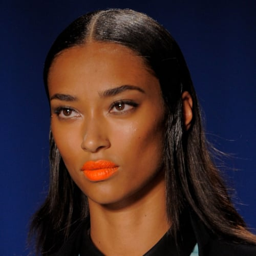 Orange Lipstick Trend Spring 2014 | New York Fashion Week
