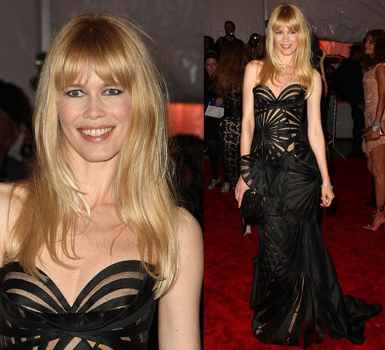 The Met's Costume Institute Gala: Claudia Schiffer