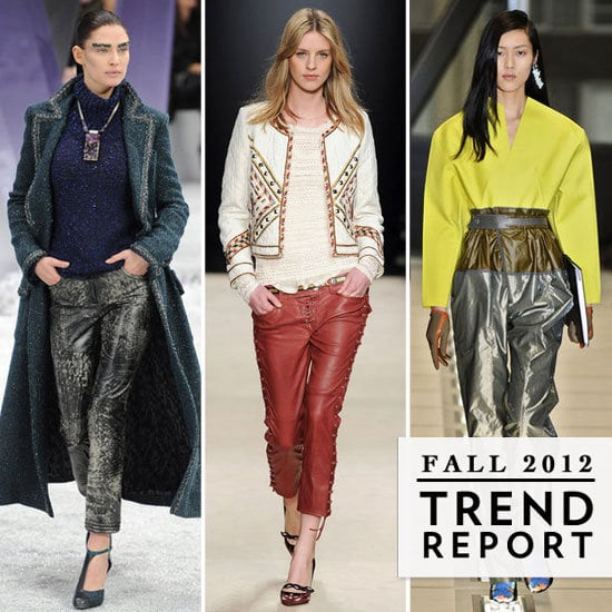 That's a wrap! Fashion month has come to a close, and we've got the top Fall '12 trends from Paris Fashion Week to tie it all together.