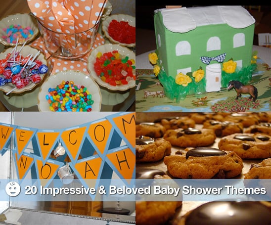 Sugar Shout Out: 20 Impressive and Beloved Baby Shower Themes