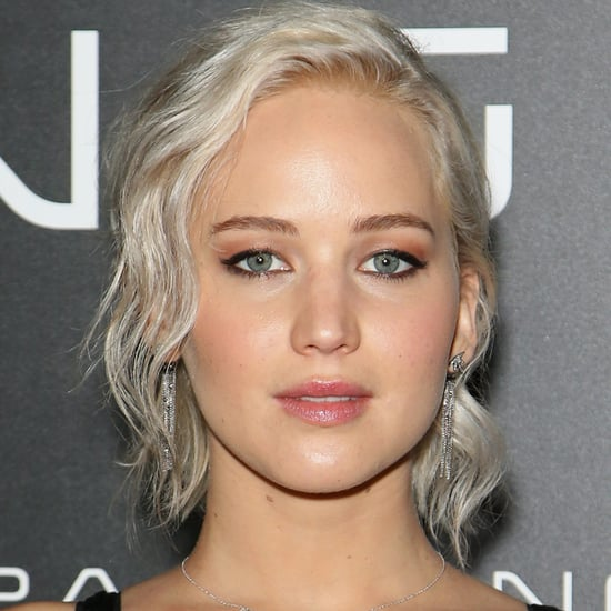 Jennifer Lawrence With Platinum Blond Hair | Spring 2016