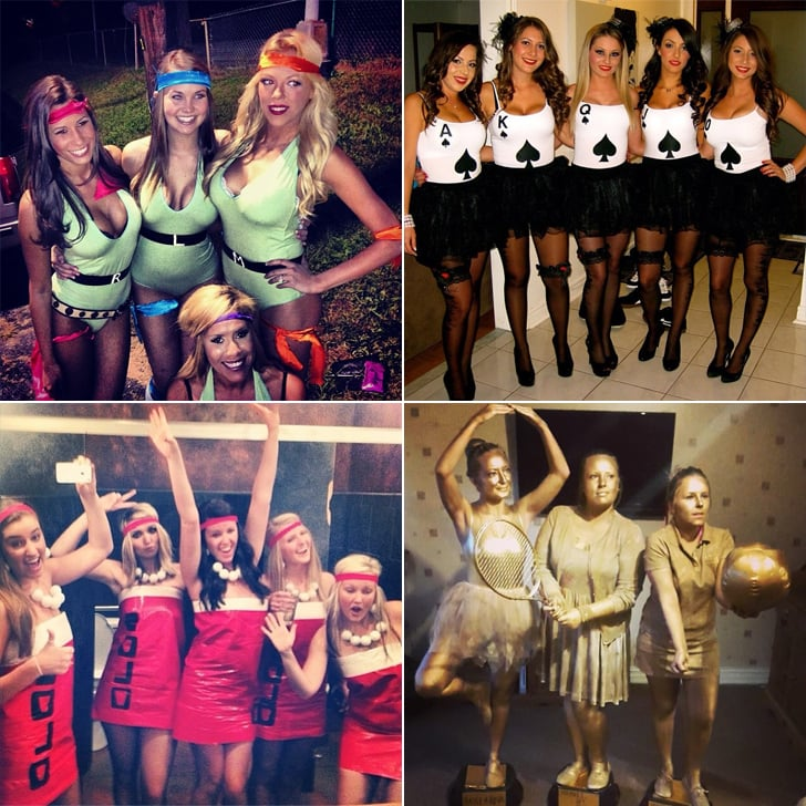 Group halloween costume ideas for girls
