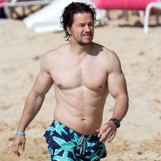 Mark Wahlberg Shirtless in Barbados | Pictures