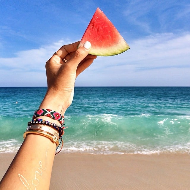 Watermelon Slices — at the Beach