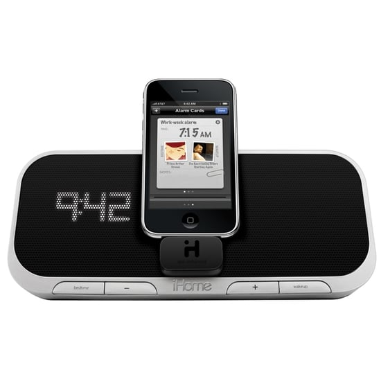 New iHome iPhone/iPod Touch Alarm Clock Dock