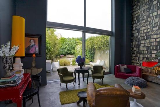 Coveted Crib: Abigail Ahern's Tongue-in-Cheek London Home