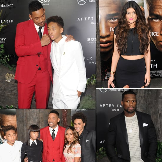 Will and Jaden's After Earth Premiere Is a Family Affair