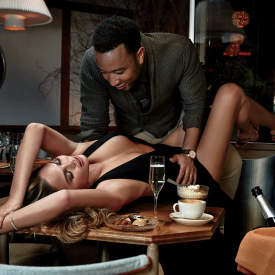 John Legend and Chrissy Teigen GQ Photo Shoot February 2015