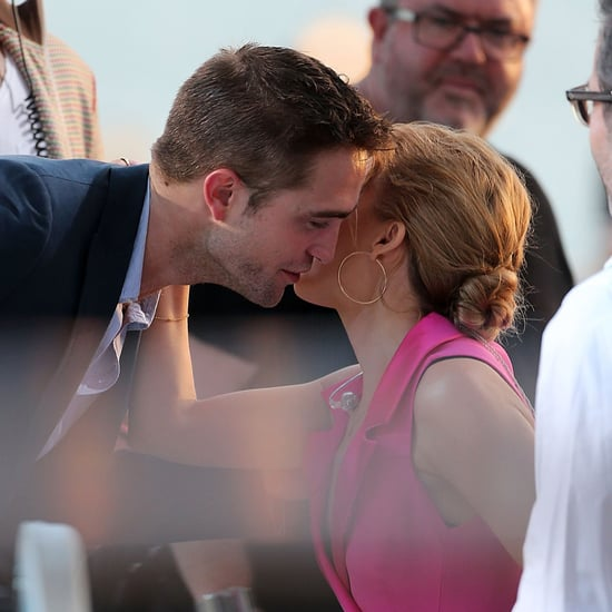Robert Pattinson Kissing Kylie Minogue in Cannes