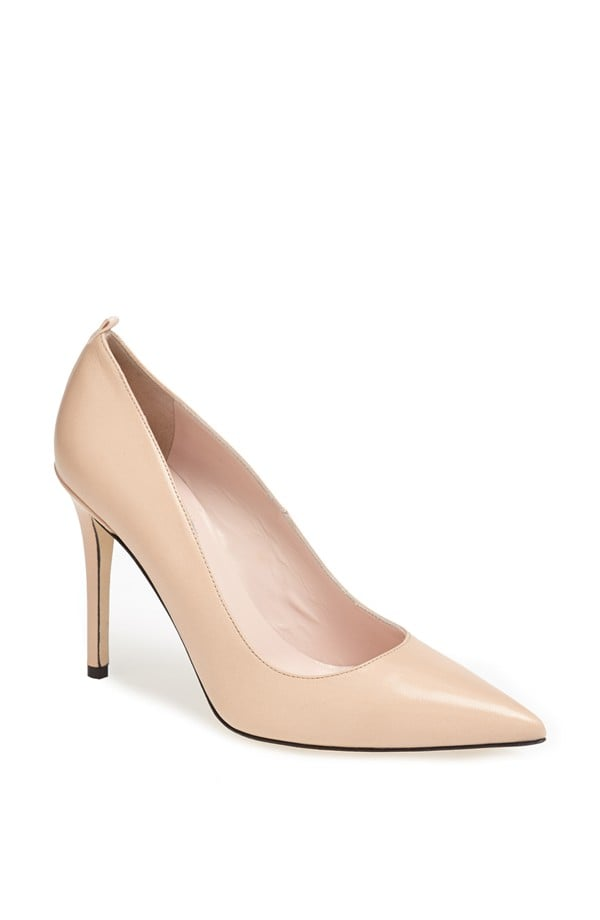 Fawn in Nude Leather