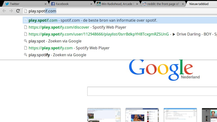 Make a Typo Once, and It'll Never Remember the Right URL