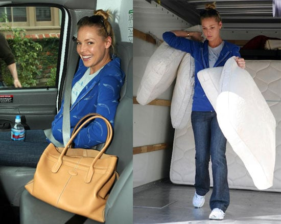 Katherine Heigl Moving into her new home in Los Angeles