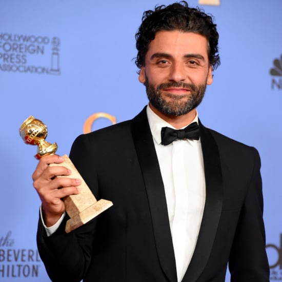 Oscar Isaac's Sexiest Pictures at the 2016 Golden Globes