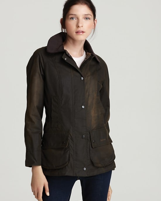 Hands down, there is no better jacket to stand up to those extracrisp late Fall days than a waxed-cotton Barbour coat ($379). It's classic, it lasts a lifetime, and it's approved by the Queen of England. You don't get more official than that. Get the removable lining, too, to make this the perfect Winter jacket!  — RK