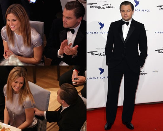 Photos of Leonardo DiCaprio And Bar Refaeli at The Cinema for Peace Gala in Berlin 2010-02-15 13:30:50