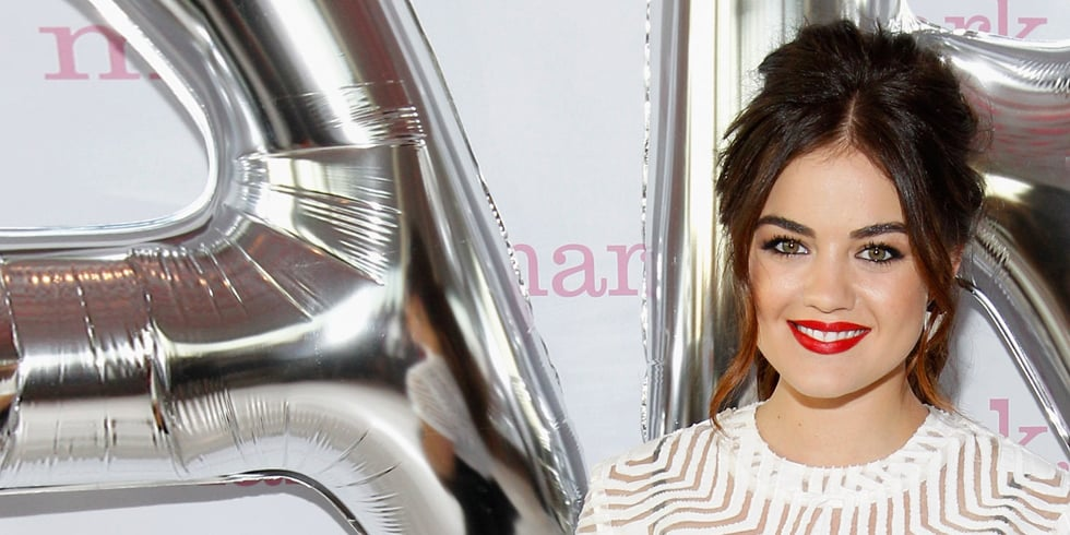 Lucy Hale Talks Twerking, Bold Brows, and Feather Boas