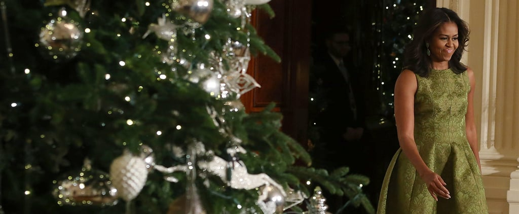 You'll Want to Take a Page From the First Lady's Holiday Dressing Handbook
