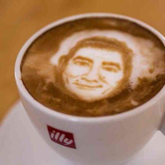 Latte Art of Celebrity Chef Portraits