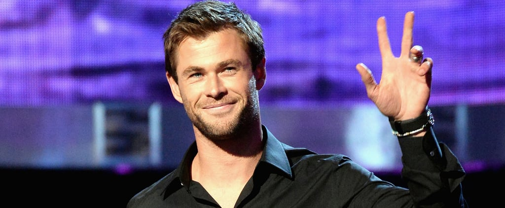 Chris Hemsworth Was a Vision of Hotness at the PCAs