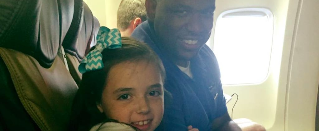 The Flight Attendant Who Helped a Little Girl Overcome Her Fear of Flying Deserves Applause