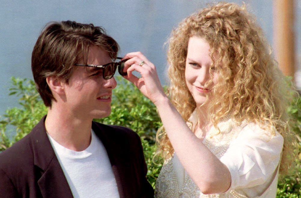 Tom Cruise and Nicole Kidman in 1992