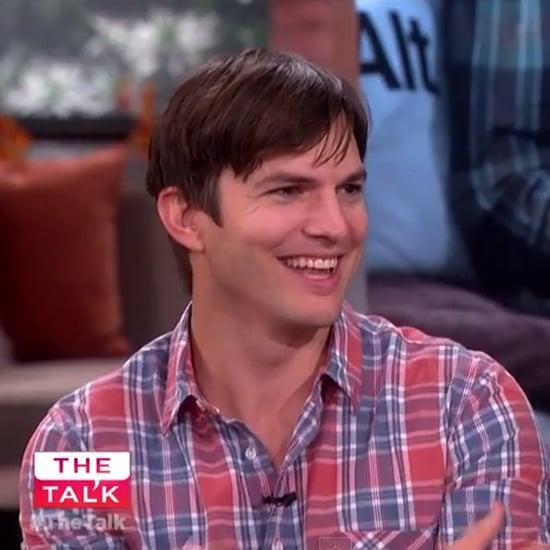 Ashton Kutcher on The Talk October 2014 | Video