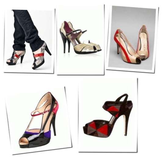 Multi-Color Peep Toe: A Very Serious Trend Indeed
