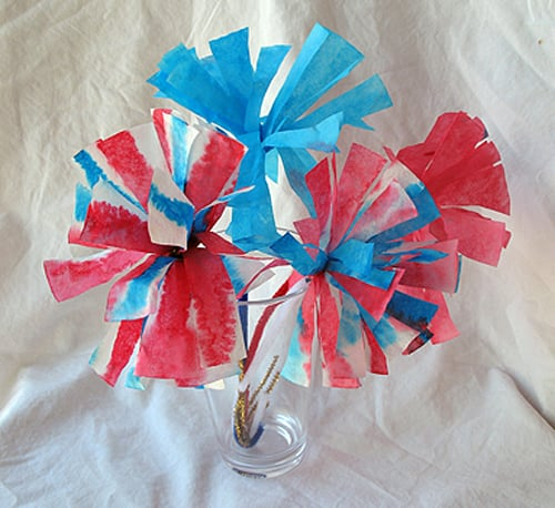 Make These: Fireworks Flowers
