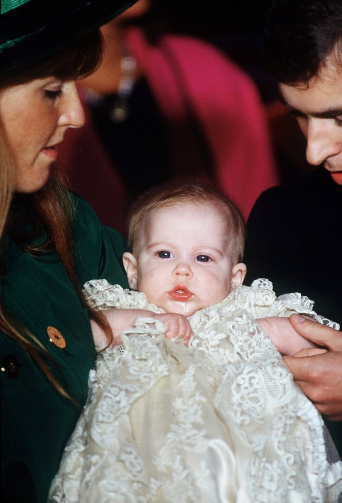 Princess Beatrice of York was christened at the Chapel Royal in St. James's Palace on Dec. 20, 1988.