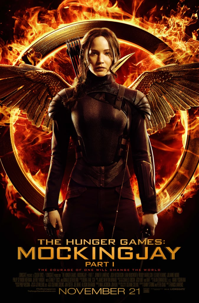 Jennifer Lawrence as Katniss, Part 2