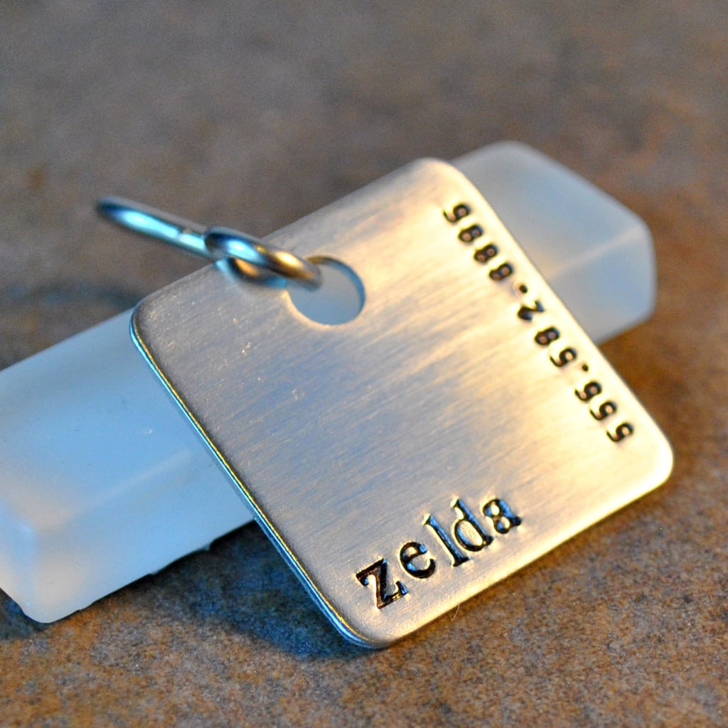 Hand-Stamped Pet Tags