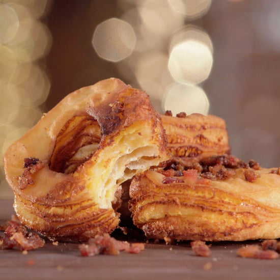 Bacon-Covered Grilled Cheese Cronut