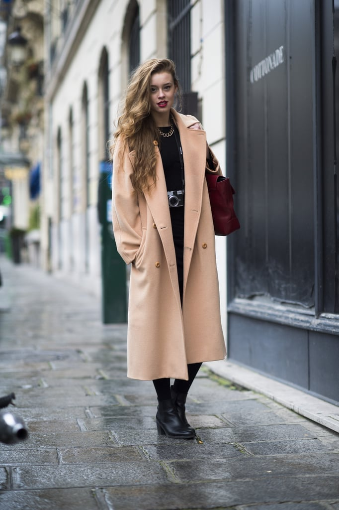 There's nothing that can tie together a look quite like a coat.  Source: Le 21ème   Adam Katz Sinding