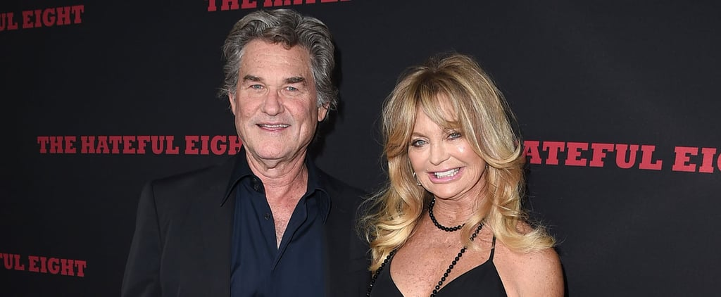 Goldie Hawn Only Has Eyes For Kurt Russell on the Red Carpet