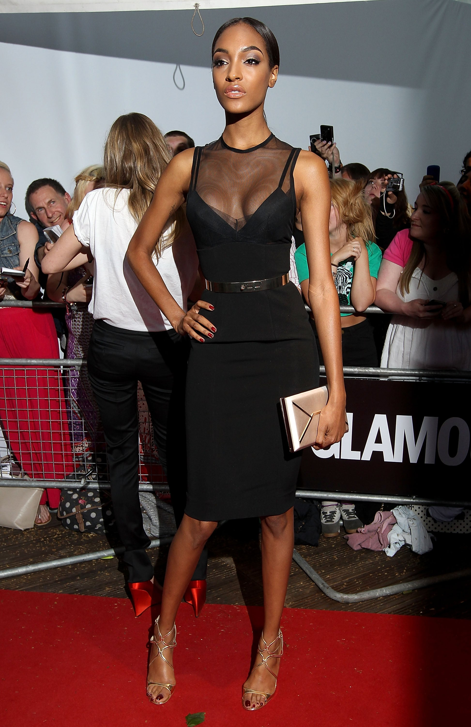 Jourdan Dunn at the 2013 Glamour Women of the Year awards.