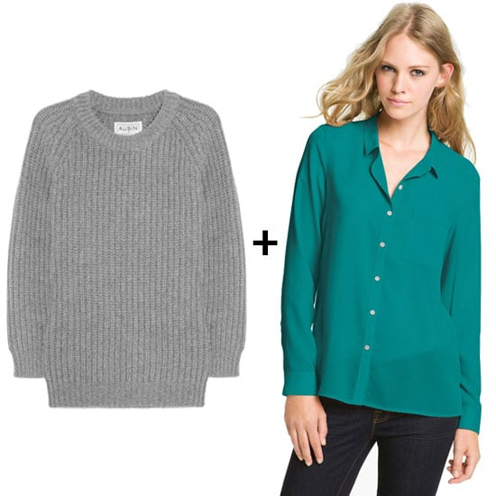 Heather Gray + Teal