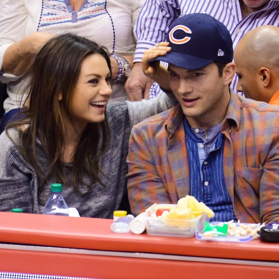 Ashton Kutcher and Mila Kunis Kiss | Pictures GIFs Video