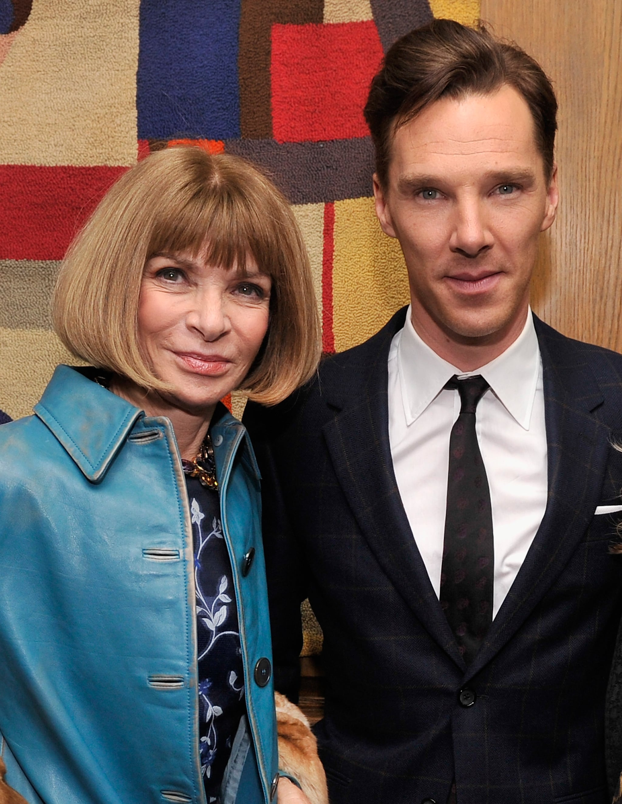 He Held His Own With Anna Wintour