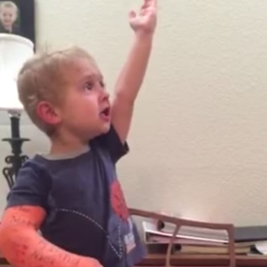 Adorable Little Boy Singing Les Miserables Passionately