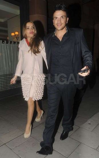 Pictures of Peter Andre With New Girlfriend Elen Rivas on a Date in London