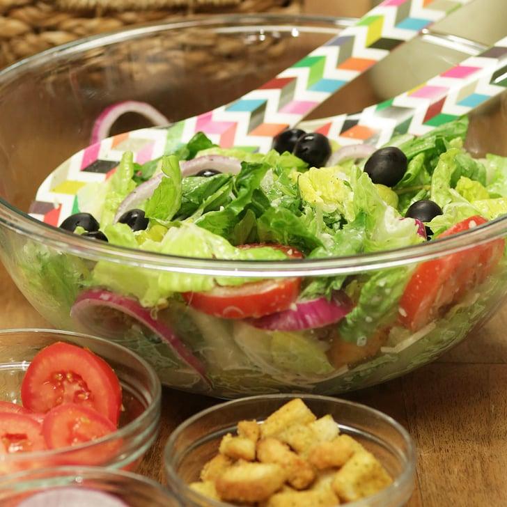 Olive garden salad popsugar food for Olive garden salad dressing recipe secret