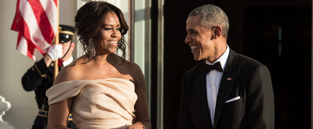 Barack and Michelle Obama Put Their Love on Display at the Nordic State Dinner