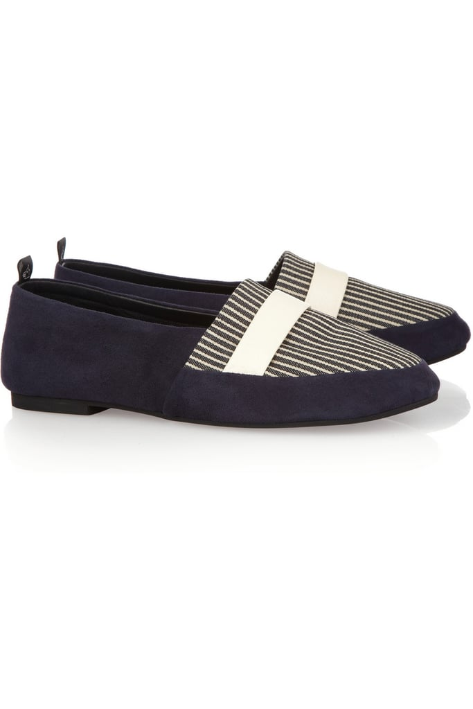 For a touch of menswear luxe, we're loving NewbarK's Camilla Suede Loafers ($550) — pair them with boyfriend jeans for a truly testosterone-tinged ensemble.