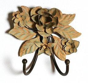 Simply Fab: Metal Flower Double Hook