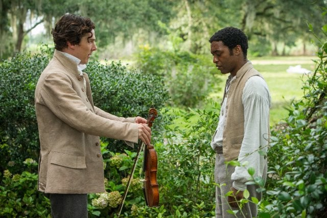 12 Years a Slave Brad Pitt and Michael Fassbender star in this period film about a free African-American man (Chiwetel Ejiofor) who gets tricked and sold and then spends 12 years in slavery, as the title suggests. I was already excited about the substance of this movie, which also stars Benedict Cumberbatch, Paul Giamatti and Paul Dano, and now that it recently wowed audiences at the Telluride Film Festival, I really can't wait to see it.