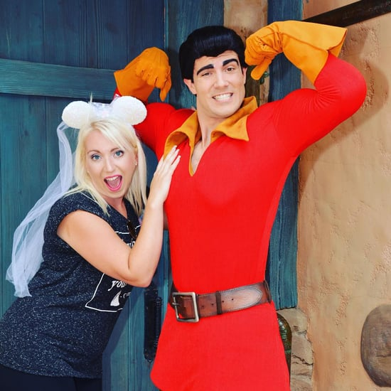 Gaston at Disneyland