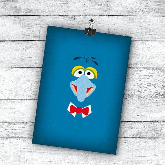 Retro Muppet Art