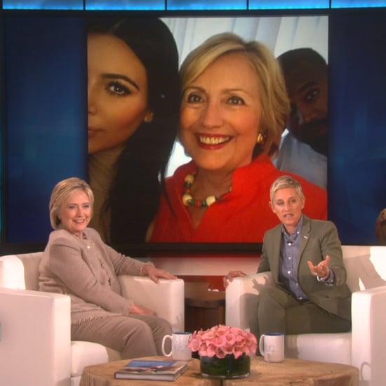Hillary Clinton Talks About Selfies With Kim Kardashian