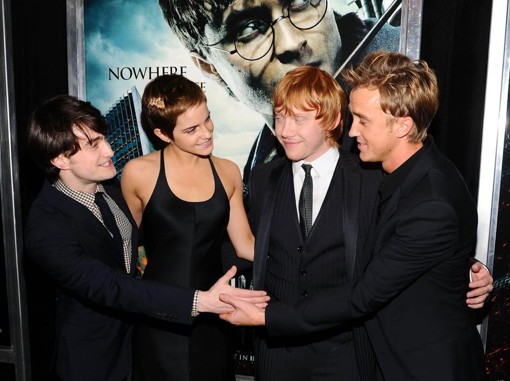 On Her Harry Potter Crush