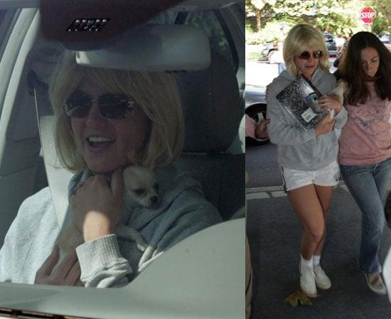 Britney Still Roams While Kev Keeps it Together for Kids